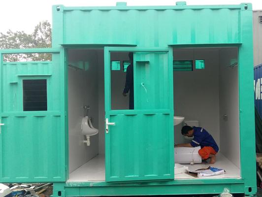 Nhà bảo vệ làm bằng container