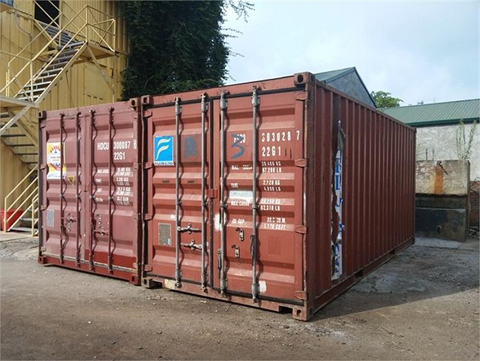 Container văn phòng cũ 20ft